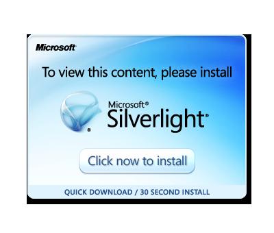 Get Microsoft Silverlight